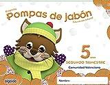 Pompas de jabón 5 años. 2º Trimestre. Proyecto Educación Infantil 2º ciclo - 9788490670224