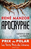 Apocryphe - Prix du Polar Les Petits Mots des Libraires (Suspense Crime)