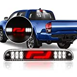 HUSUKU Tail High Mount 3rd Third Brake Light for Ford F-250 F-350 F-450 F-550 / Super Duty 1999-2016 / Ranger 1993-2011 Red