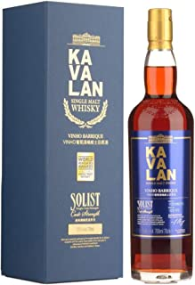 Kavalan Single Malt Whisky Solist Vinho Barrique in Geschenkpackung Taiwan 1 x 0.7 l