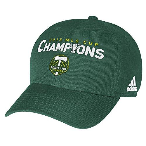 adidas MLS 2015 MLS Champion Cup Slouch Cap, Unisex-Erwachsene, grün, Einheitsgröße