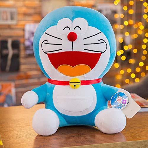 Recordever Doraemon Pop Doraemon Kat Knuffel Blauwe Dikke Pop Volledige Expressie - Lach_100cm