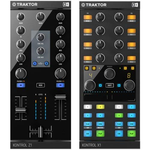 Native Instruments Traktor Kontrol Z1 + X1 MK2 Set