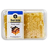 Buram 100% Pure, All-Natural, Gourmet Raw Honeycomb, No Additives, No Preservatives, Fresh From The Farm! 7.1 Ounce (Pack of 1)