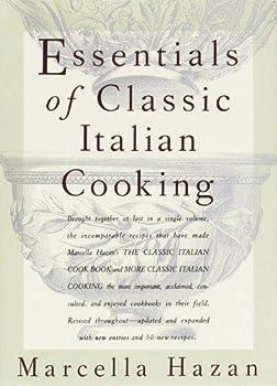 Hardcover Essentials of Classic Italian Cooking Book