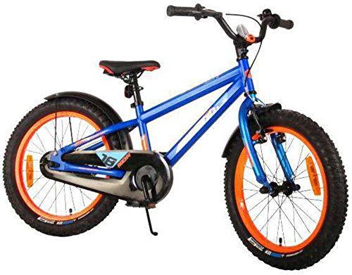 Bici Bicicletta Bambino Rocky 18 Pollici Blu 95% assemblata