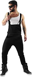 Mens Overalls Jumpsuit 2019 New Casual Dungarees Trousers Suspender Pants