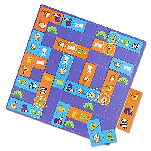 Domino Bambini Giochi di Società - Domino Gioco Educativo 3 4 5 6 7 anni