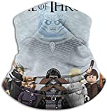 Aidyasd Game of Thro-NES Tube Neck Neck Warmer Soft Headwear Face Scarf Cover for Cold Weather Winter Outdoor Sports Black