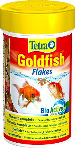 Tetra Goldfish Flakes - Alimento para todos los peces dorados y otros peces de agua fría, 100 ml 🔥