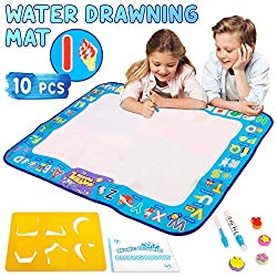 50%OFF Number and Letters Water Doodle Drawing Mat for Kids and Toddlers