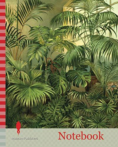 Notebook: Plants 19th Century Kentia Baueri Chrysalidocarpus (Hyophorbe) Lutescens Howea (Kentia) Forsteriana Trachycarpus (Chamaerops) Excelsa ... Phoenix Canariensis Livistona (Corypha)