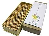 淡路梅薫堂の上質お香 精油のしずく イランイラン 30g 花の線香 花線香 花の香り かおり いい匂い 精油 アロマ 香る スティック japanese aroma essential oil incense stick Awaji Baikundou ylang ylang seiyunoshizuku #179