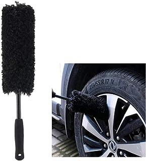 Brush Depot Microfibre Wheel Brush, Completely Safe Wheel Cleaning…
