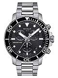 TISSOT Orologio Cronografo Quarzo Uomo con Cinturino in Acciaio Inox T1204171105100