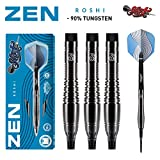 Shot! Darts Zen Roshi-Soft Tip Dart Set-Front Weighted-90% Tungsten Barrels (20)