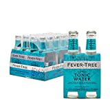 Fever-Tree Citrus Tonic Water, No Artificial Sweeteners, Flavourings or Preservatives, 6.8 Fl Oz (Pack of 24)