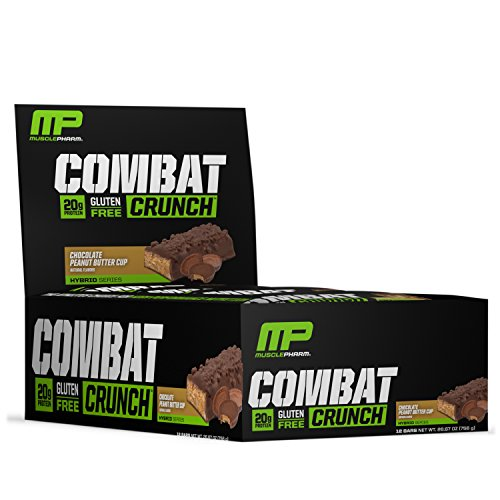Muscle Pharm Combat Crunch Supplement, 12 count - 51kVtLx2BVL