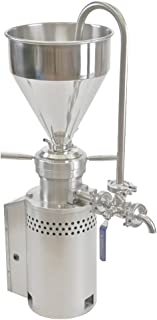 BAOSHISHAN 304 Stainless Steel Peanut Butter Machine Ketchup Machine Colloid Mill Sesame Butter Maker Grinding Machine 15-40kg/h (110)
