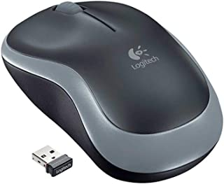 Logitech M185 Wireless Mouse, Swift Gray