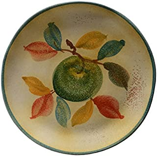 Italian Dinnerware - Salad Plate - Handmade in Italy from our Frutta Laccata Collection