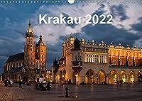 Krakau - die schoenste Stadt Polens (Wandkalender 2022 DIN A3 quer): Krakau - die schoenste Stadt Polens (Monatskalender, 14 Seiten )