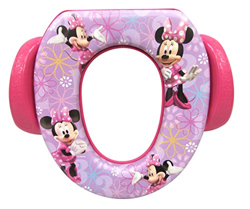 Disney Minnie Mouse'Bowtique' Soft Potty Seat, Purple