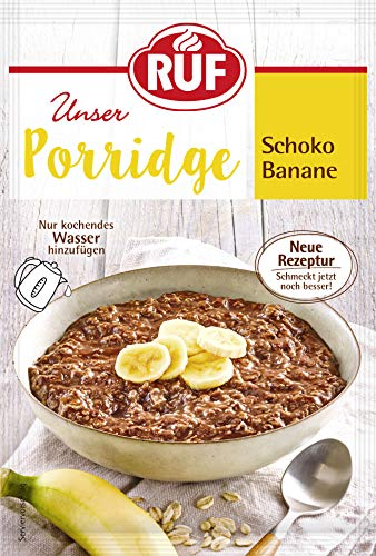 RUF Porridge Schoko-Banane, 65 g