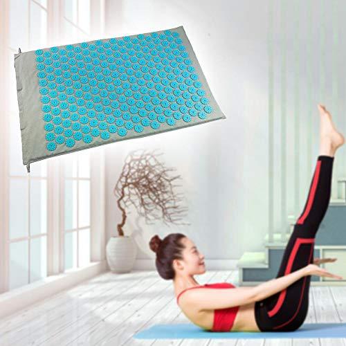 QIYU Akupressur-Set Akupressurmatte Massagematte mit Kissen zur Schmerzlinderung und Muskel Entspannung, Bessere Durchblutung