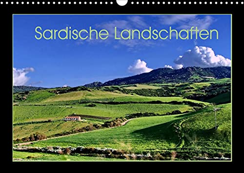 Sardische Landschaften (Wandkalender 2022 DIN A3 quer)