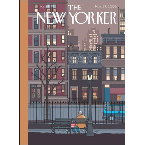 The New Yorker (Nov. 27, 2006) audiobook cover art