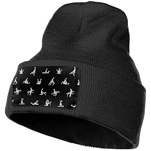 kasual K-AMA S-utra Strickmütze Kappe Dick Multifunktionale Unisex Hüte Outdoor Herbst und Winter Warme Manschette Beanie Caps Schwarz