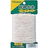 TRUSCO(トラスコ) 純綿水糸 線径1.2mm 100m巻 MI-8100M