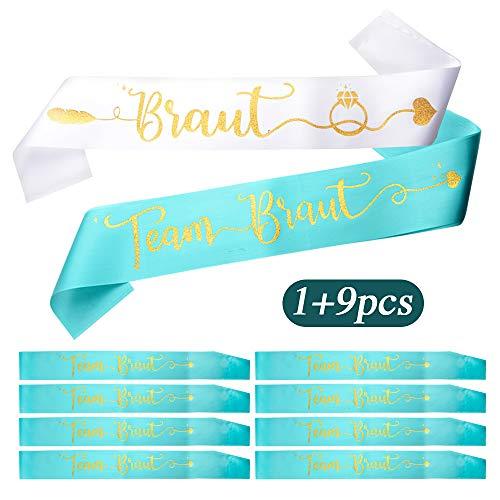 FLOFIA - Krawatten & Schärpen zum Verkleiden in Grün, Größe 160 x 9.5cm