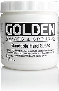 sandable hard gesso