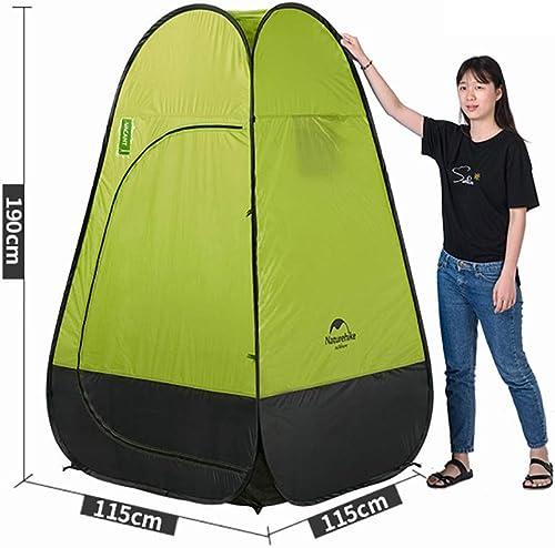 FDSEP Tente escamotable portative, abris de sécurité pour vestiaire, pour Douche et Toilettes