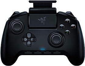 Razer Raiju - کنترلر Gaming Controller نسل بعدی برای PlayStation 4 - دکمه های بسیار واضح واکنش پذیر، کاملا آبی