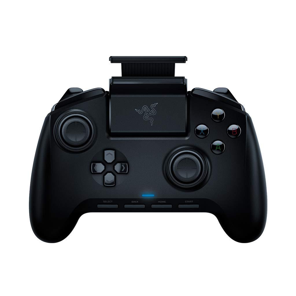 Razer Raiju Mobile: Ergonomic Multi-Function Button Layout - Hair Trigger Mode - Adjustable Phone Mount - Mobile Gaming Controller for PS4