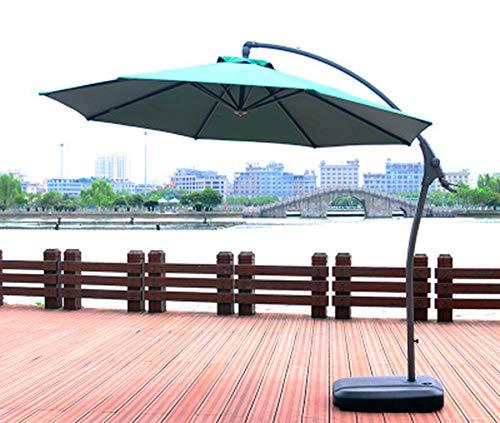 Ampelschirm 300 cm Sonnenschirm Kurbelschirm mit Kurbelvorrichtung Sonnenschutz, UV50+