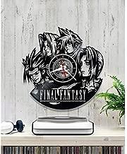 In Na Final Fantasy wal Clock, Vinyl Wall Clock, Vinyl Record Clock, Original Gift, Home Decor, Wall Art