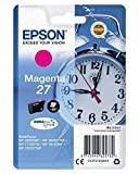 Epson - cartuccia - C13T27034012 - inchiostro magenta, Durabrite Ultra, serie 27, sveglia