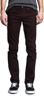 Men's Skinny Fit Color Stretch Jeans