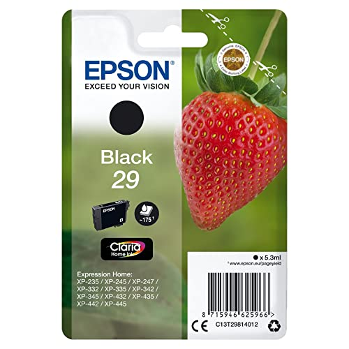 Epson - C13T29814022 - Cartouche d'Origine - T29 'Fraise' - Encre Claria Home