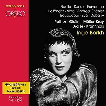 Grosse Sänger unseres Jahrhunderts: Inge Borkh