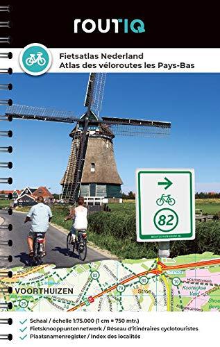 Routiq Fietsatlas Nederland - Atlas des véloroutes des Pays-Bas