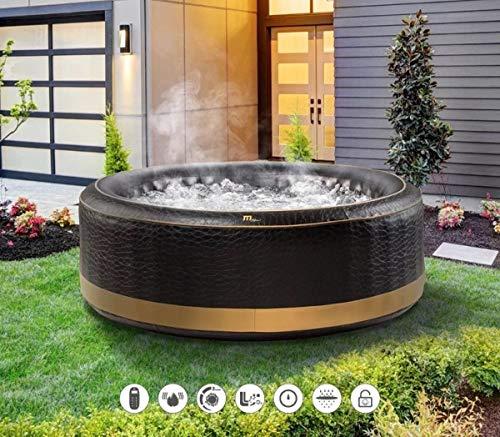 MSPA Exotic Bubble Inflatable Hot Tub Portable Spa Jacuzzi , 700 liters , 4...
