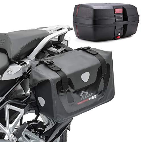 Satteltaschen Set für Honda Hornet 600 / S + Topcase TP8