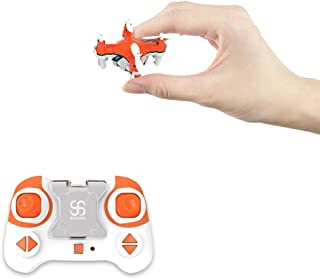 Mini Drone RC Nano Quadcopter for Kids and Adults Portable Pocket Helicopter Gift Small RTF Micro Plane with Headless Mode...