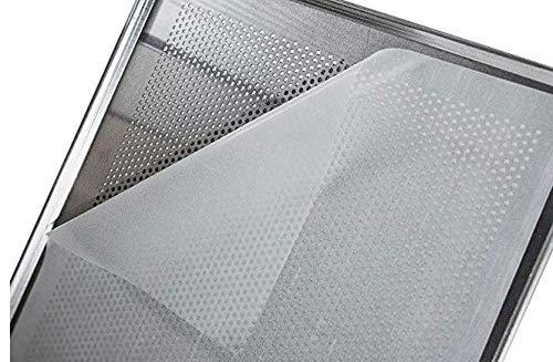 LEHRMANN Silikonmatte (2 Stück) 40 x 33 cm dauerhaftes Backpapier Backmatte Dauerbackunterlage für Backblech Lochblech Pizzablech