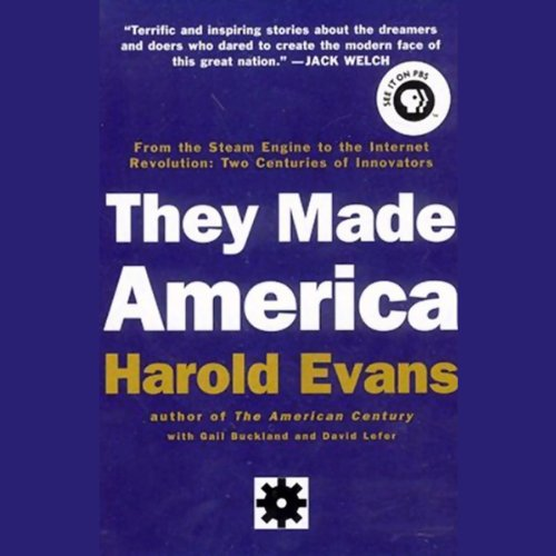 They Made America audiobook cover art